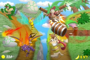 Comm: Skylanders and Donkey Kong- Parallel Paths by BroDogz