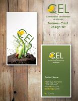 CEL biz card design by KyleValenti