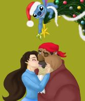 Christmas Kiss-WIP by DisneyFan-01