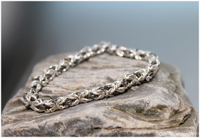 Chainmaille bracelet 3 by Gex78