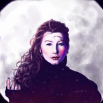 MOON by rosabelieve