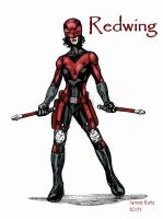 Redwing redesign by Jimmy-B-Deviant