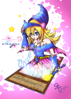 Dark Magician Girl by Nekoi-Echizen