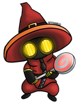Mr.Pyre Chibi by Spychedelic
