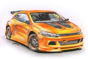 Vw Sirocco HSTsport tuning by Haster-Trenctown