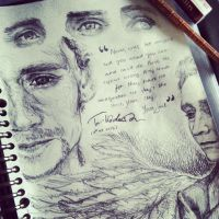 Tom Hiddleston Sketch I by angelz-devil