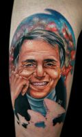 carl sagan by tat2istcecil
