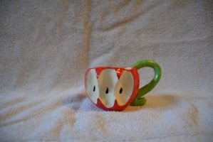 apple cup by Asymmetricalsoul