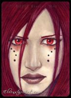 ACEO -- Ruby Regard by ElvenstarArt