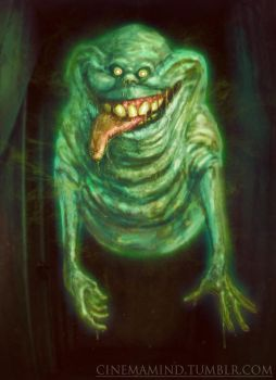 Slimer by cinemamind
