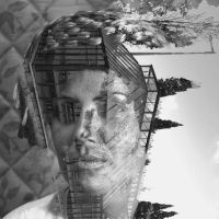 Double Exposure 02 by Valadj