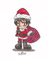 Yog's Request - Santa Tatsuhiro Colored by HirokoTheHedgehog