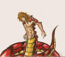 Fortitude  the Naga by Venex123