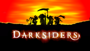 darksiders horsemen wall by fearmaker782