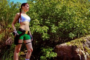 Lara Croft - adventure time by TanyaCroft
