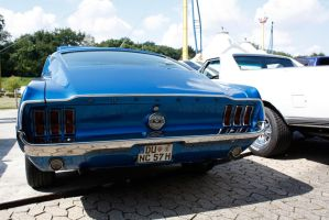 Mustang Fastback Rear by christiAnpure