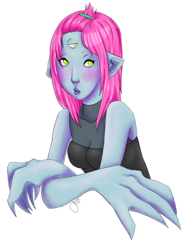 New Monster Girl Oc by sharemypassion