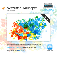 twitterish wallpaper by yt458
