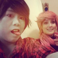 Prince Gumball and Marshal Lee by Russia4evah