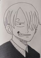 Sanji by kingofthe3lves
