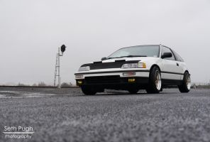 Honda Crx by TEALRICE