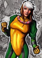 Rogue AOA 2 - Sketch Card by J-Redd