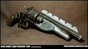 Jayne Cobb's Lemat Replica - Painted Resin by JohnsonArms