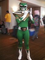 SacAnime Cosplay: Green Ranger by wolfforce58