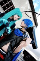Vocaloid Miku and Kaito 2 by HimeNami