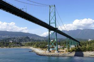 Lions Gate Bridge by MisterKrababbel