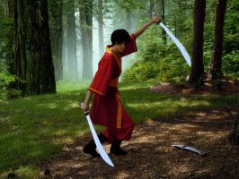 Zuko Sword Dance by twiglightdragon
