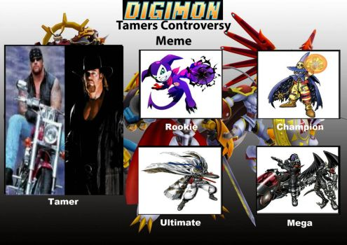 Digimon Tamer Undertaker  by Animalunleashed