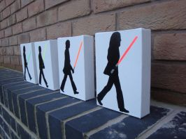 Beatles - Star Wars Abbey Road by RAMART79