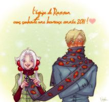 +RAXXON+ Love and Knitting by Nephyla