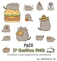 Pack 17 Gatitos PNG by Marianevic