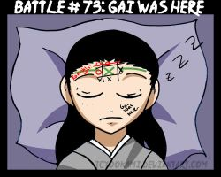 Battle 73: Gai Was Here by icyookami