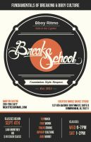 Break School flyer by RESAoner