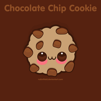 Chocolate Chip Cookie by rubinfield