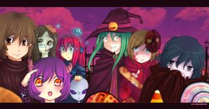 Halloween... halloween... by Piyu