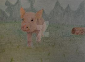 Piglets journey by AngelInTheHeart