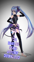 Tda Hagane Miku Append Download by Kodd84