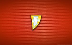 Wallpaper - SHAZAM 'New 52' Logo by Kalangozilla