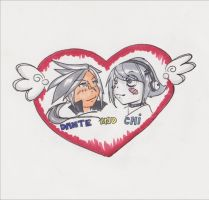 dante and chi heart by TentacleF00