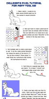 Pixel Tutorial for Sai by Dellesen