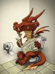 Toilet Dragon by Undeadgoth