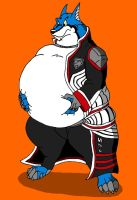 fat Doggie Kruger by HectortheWolf