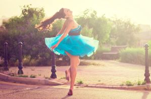 Dancing Away the Blues. by Sarah-BK