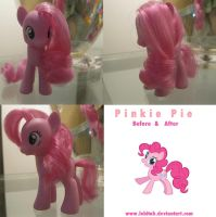 Pinkie Pie Make Over by Lobitah