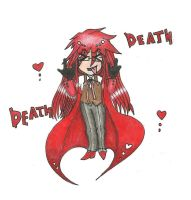 Grell Sutcliff by SoullessRiku