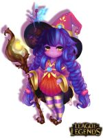 League of Legends- Skin Lulu by KhayRin